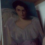 Copy of John Singer Sargent - painting by Kathy Barker